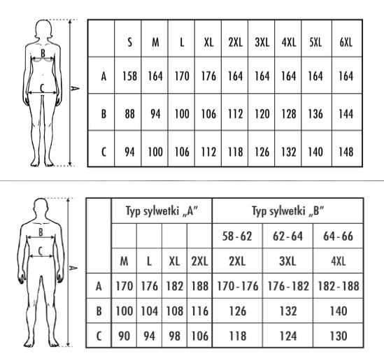 df2fe8f9a72161 M-Max - tabela rozmiarów - Bielizna damska i męska, najnowsze trendy w  niskich cenach